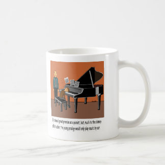 Playing Music By Ear Coffee Mug