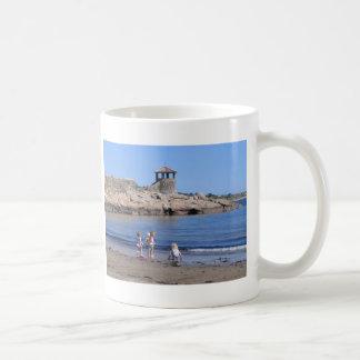 Playing On the Beach in Rockport, MA Coffee Mug