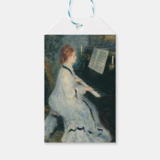 Playing Piano by Candlelight Gift Tags