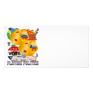 Playing-Politics-V-1 Customized Photo Card