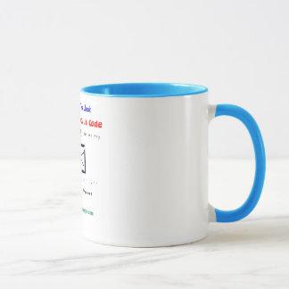 playing pool - mug