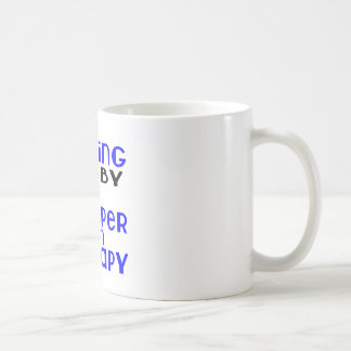 Playing Rugby Cheaper Than Therapy Coffee Mug
