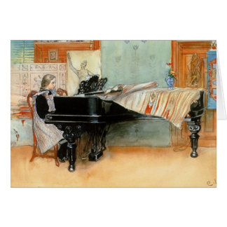 Playing Scales 1898 Card