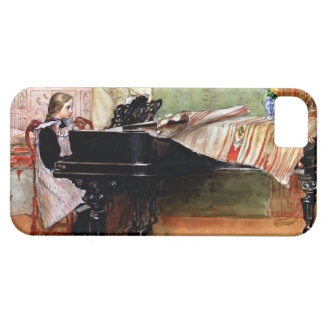 Playing Scales - Carl Larsson artwork iPhone 5 Covers