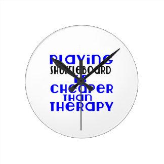 Playing Shuffleboard Cheaper Than Therapy Clocks