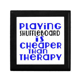 Playing Shuffleboard Cheaper Than Therapy Gift Box