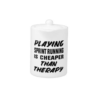 Playing Sprint Running is cheaper than therapy