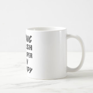 Playing Squash is cheaper than therapy Coffee Mug