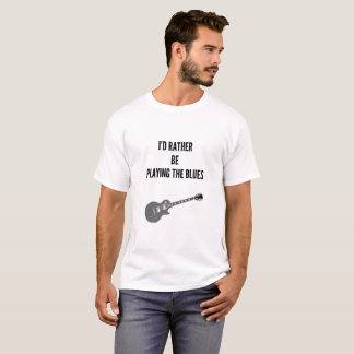 Playing The Blues T-shirt