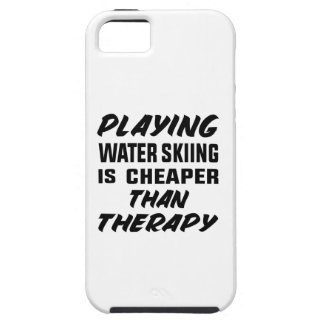 Playing Water Skiing is cheaper than therapy Case For The iPhone 5