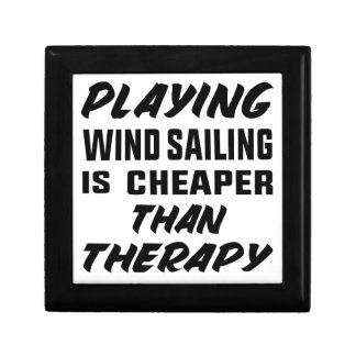Playing Wind Sailing  is Cheaper than therapy Gift Box