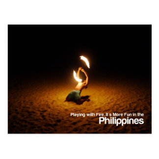 Playing with Fire Philippines Meme Postcard