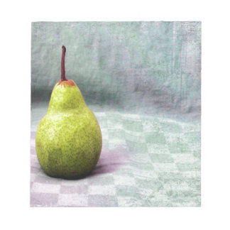 Playing with Food. Fruit. Pear Notepad