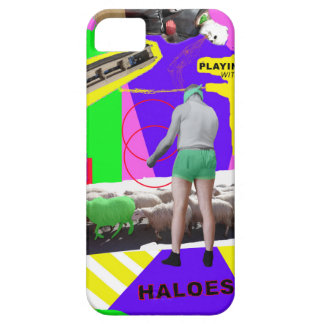 Playing with haloes iPhone 5 cover