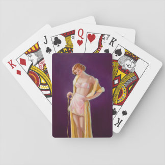 Playing with Kitty  Pin Up Art Poker Deck