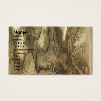 Playing with Watercolors 2 by Colton Hunt Business Card
