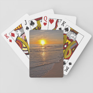 PlayingCards: Sunset by the Beach Playing Cards