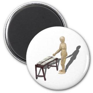 PlayingMarimbas121210 Magnet