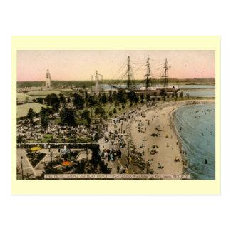 Playland Amusement Park, Rye, New York Vintage Postcard