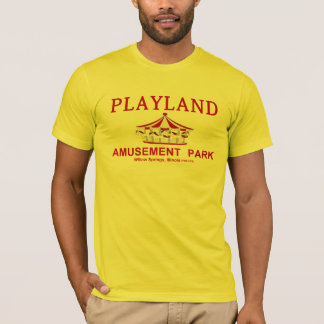 Playland Amusement Park, Willow Springs, Illinois T-Shirt
