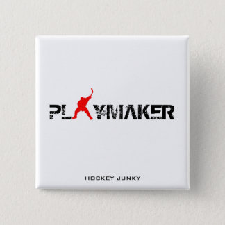 PLAYMAKER 2 INCH SQUARE BUTTON