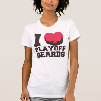 Playoff Beards (pink) T-Shirt