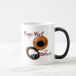 Plays Well/ Tuba Magic Mug