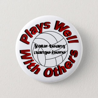 Plays Well With Others 2 Inch Round Button