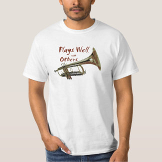 Plays Well with Others/ Trumpet T-Shirt