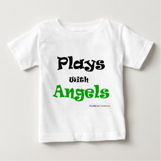 Plays with Angels Baby T-Shirt