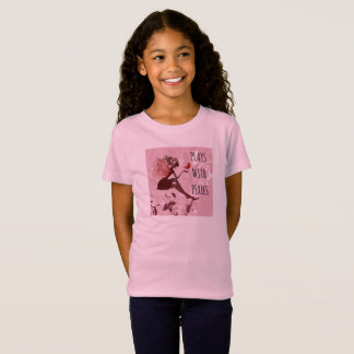 Plays With Pixies Girls Tee