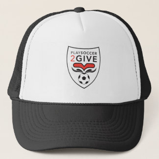 PlaySoccer2Give Crest Trucker Hat