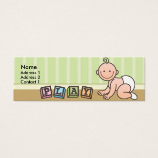 Playtime Baby Skinny Profile Cards