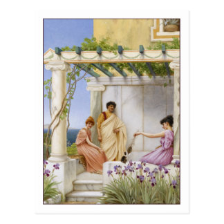Playtime by Godward Postcard