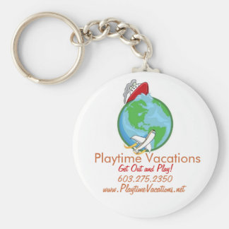 Playtime Vacations Key Chain
