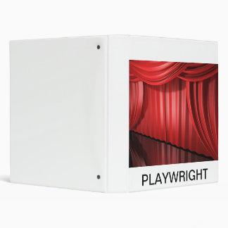 Playwright 3 Ring Binder