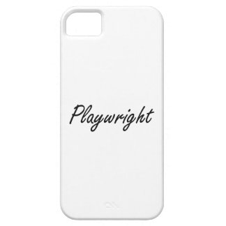 Playwright Artistic Job Design iPhone 5 Covers
