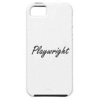 Playwright Artistic Job Design iPhone 5 Cases