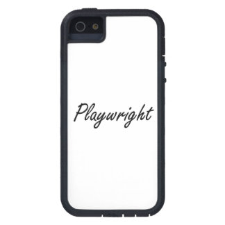Playwright Artistic Job Design iPhone 5 Cover