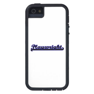 Playwright Classic Job Design iPhone 5 Case