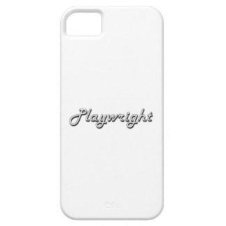 Playwright Classic Job Design iPhone 5 Cases