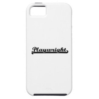 Playwright Classic Job Design iPhone 5 Covers
