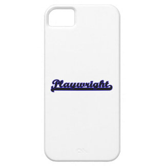 Playwright Classic Job Design iPhone 5 Cover