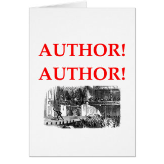 playwright greeting card