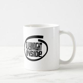 Playwright Inside Coffee Mugs