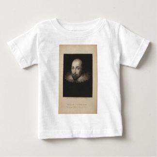 Playwright William Shakespeare by Cornelius Jansen Baby T-Shirt