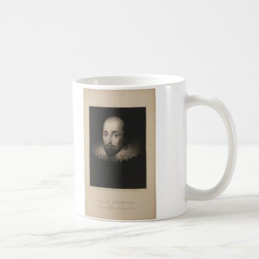 Playwright William Shakespeare by Cornelius Jansen Mugs