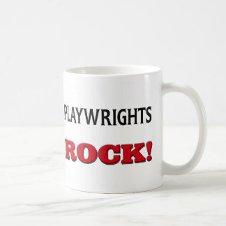 Playwrights Rock Mug