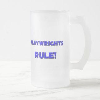Playwrights Rule! Coffee Mug
