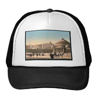 Plaza and church of San Francisco di Paola, Naples Trucker Hat